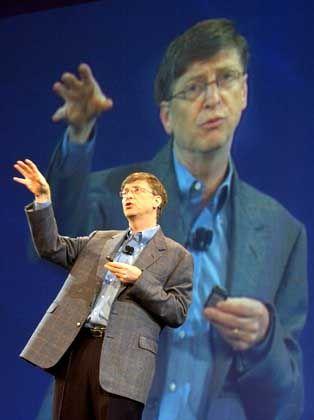 """Hielt es nicht lange an der Uni aus: """"Bill Gates"""