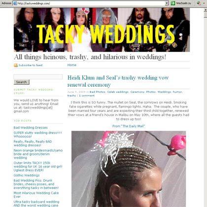 """Hauptsache schlimm: Das Ja-Wort im Licht von """"Tacky Weddings"""""""