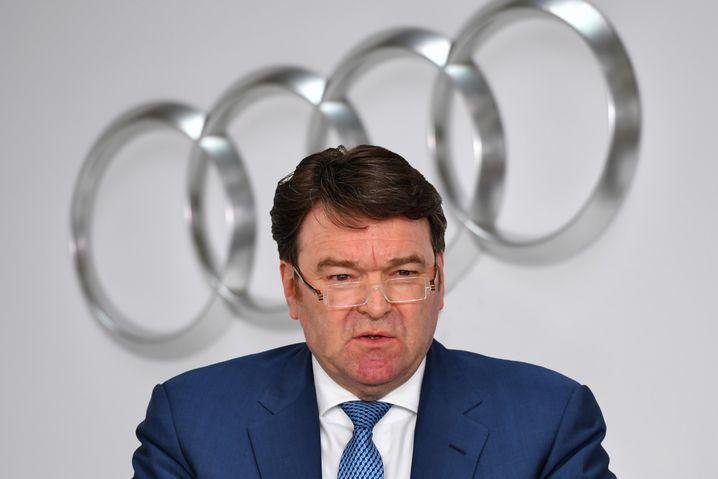 Vertrag bis 2021: Audi-Chef Bram Schot.
