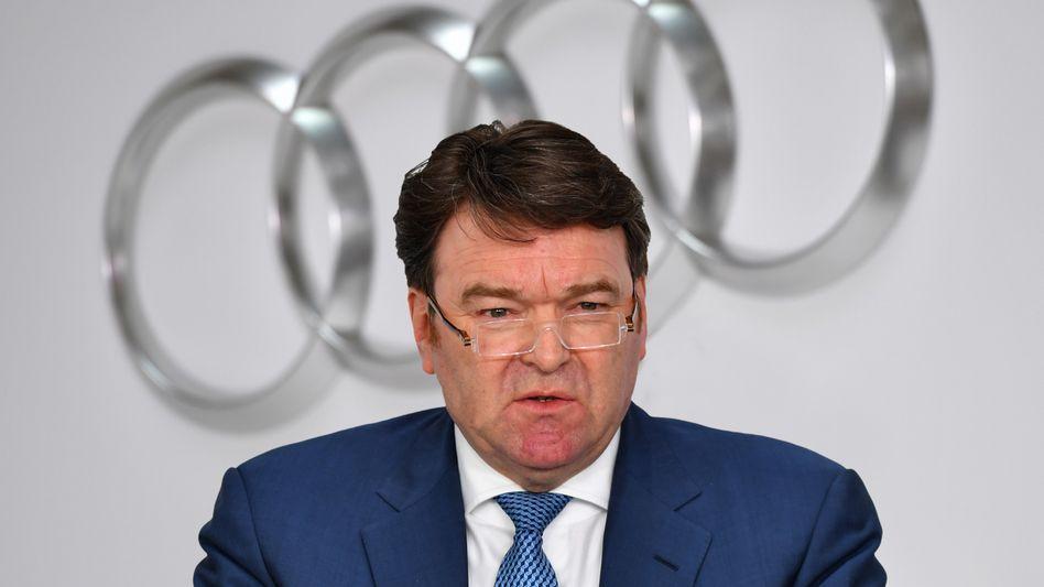 Bram Schot muss auf seine Bestellung zum dauerhaften Audi-Chef noch ein paar Wochen warten
