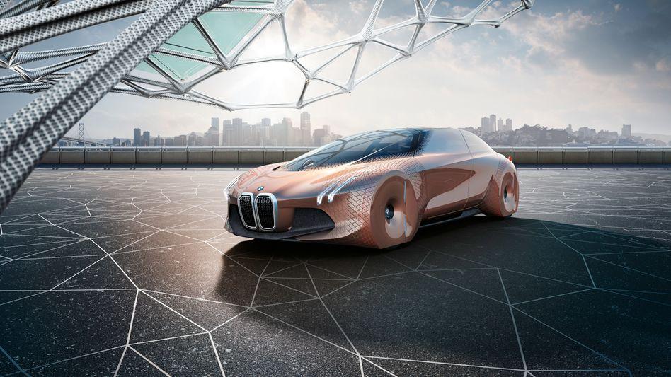 """BMW-Zukunftsstudie """"next 100"""": Der Gewinn wuchs um 10 Prozent auf rund 6,4 Milliarden Euro. Die Dividende steigt ebenfalls zweistellig auf 3,20 Euro je Aktie"""