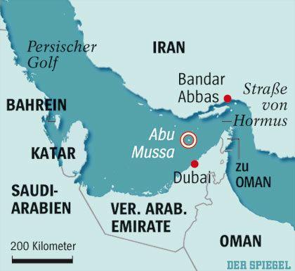 Ein Nadelöhr für Öltanker:Die Straße von Hormus