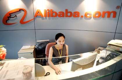 Alibaba-Zentrale: Mit 15 Millionen Kunden ist das Dotcom im Vergleich zu Ebay oder Amazon ein Winzling