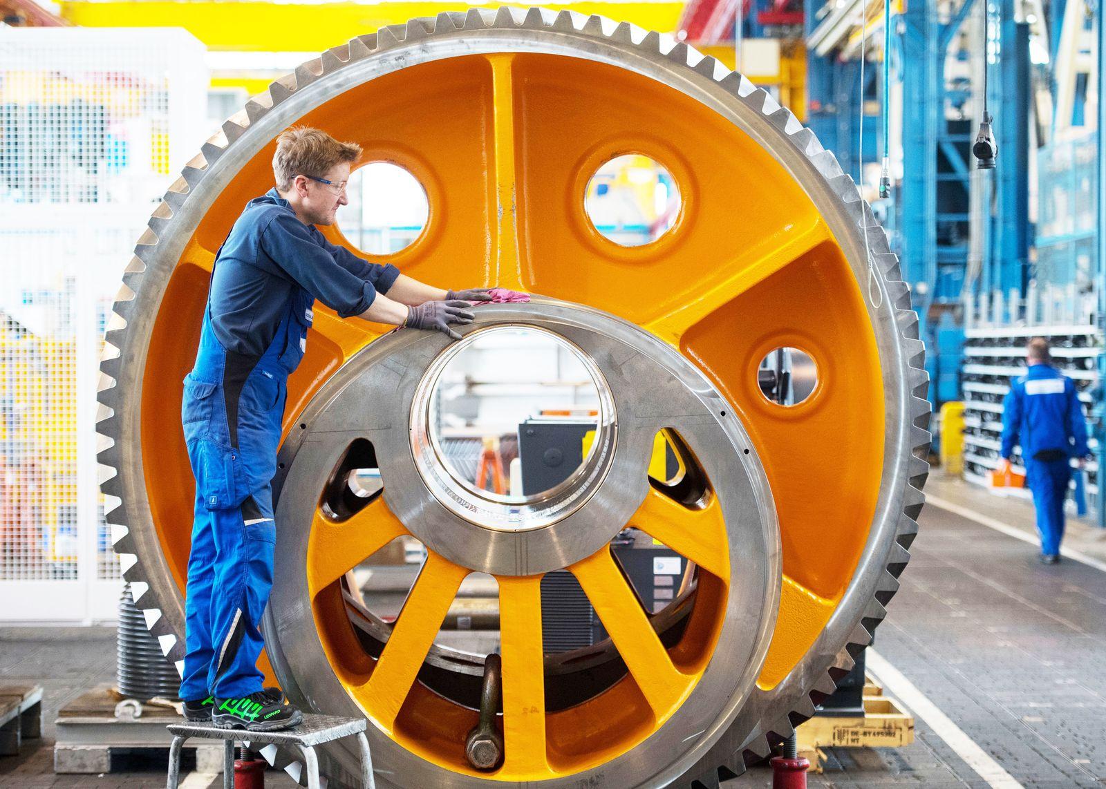 Deutschland / Konjunktur / Wirtschaft / Metallindustrie / Maschinenbau / Arbeitszeit / Industrie