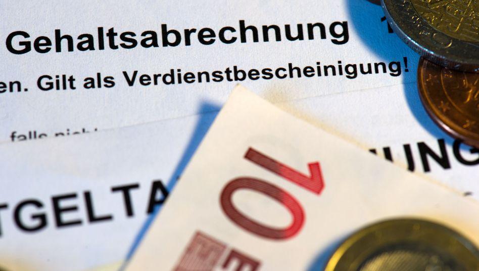 Gehaltsabrechnung: Bundesbank und DIW sehen Spielraum für höhere Lohnabschlüsse