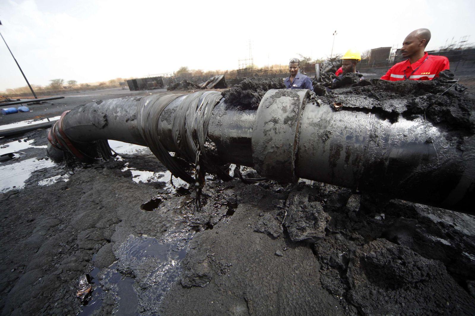 Sudan/ Öl/ Heglig Pipeline