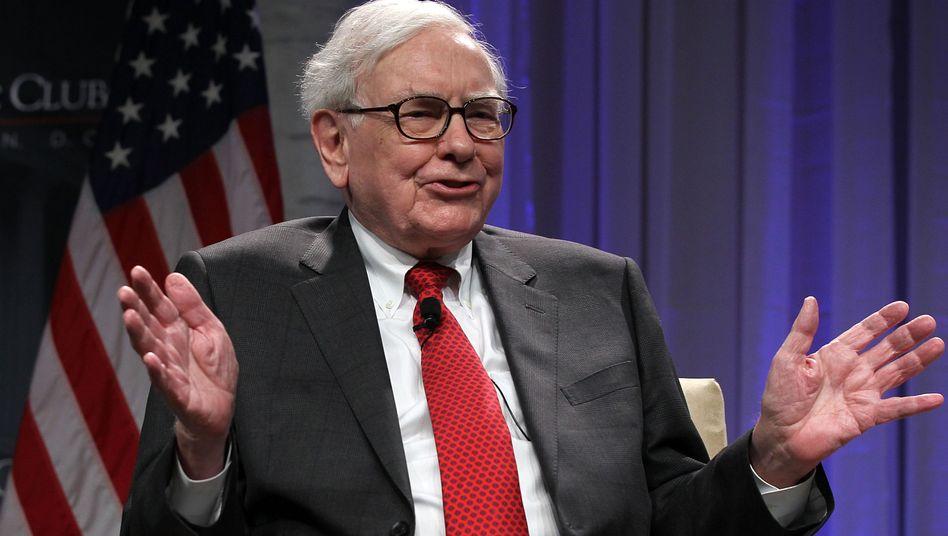Starinvestor Buffett: Seine Aktie schaffte einen neuen Rekord