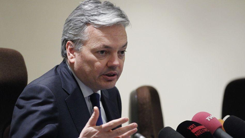 Didier Reynders: Der belgische Finanzminister will die Dexia mit einer Bad-Bank retten