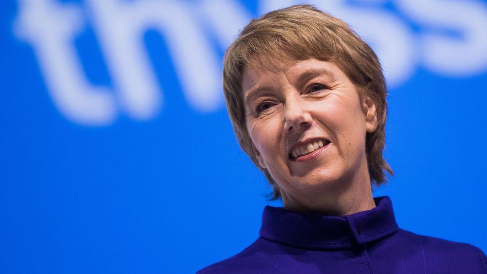 """Thyssenkrupp-Chefin Martina Merz: """"Wir werden unsere Position bei Greentech-Produkten kontinuierlich ausbauen"""""""