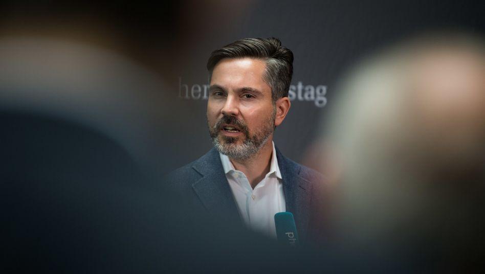 Linken-Finanzpolitiker Fabio De Masi