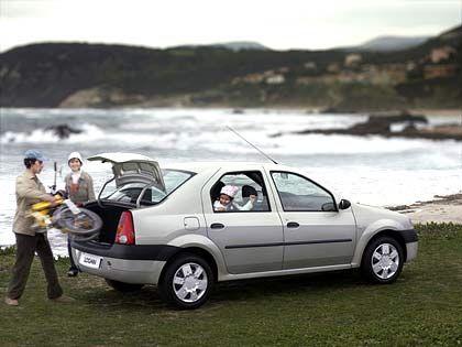 Familientauglich: Der Dacia Logan ist 4,25 Meter lang