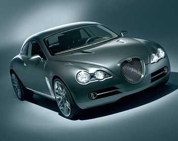 Autoskulptur von besonderem Reiz: Jaguar-Studie R-D6
