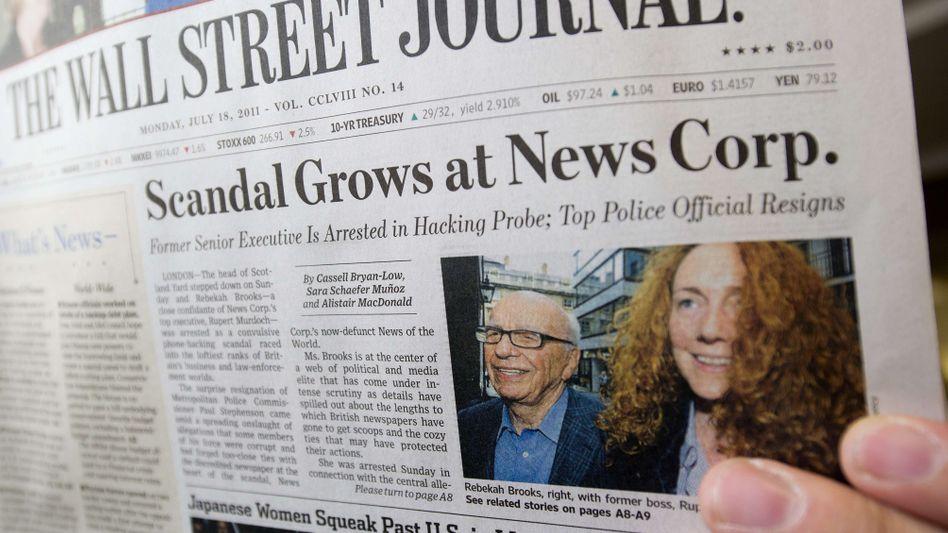 """Renommiertes Blatt: Das """"Wall Street Journal"""" wird es künftig wohl auch im deutschsprachigen Internet geben"""