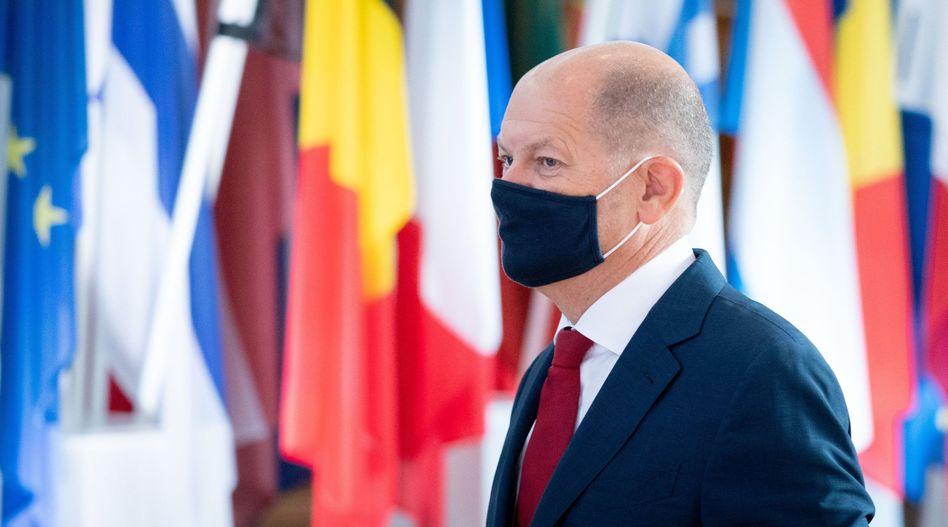 """""""Die Wahlen müssen komplett stattfinden"""": Vizekanzler Olaf Scholz"""
