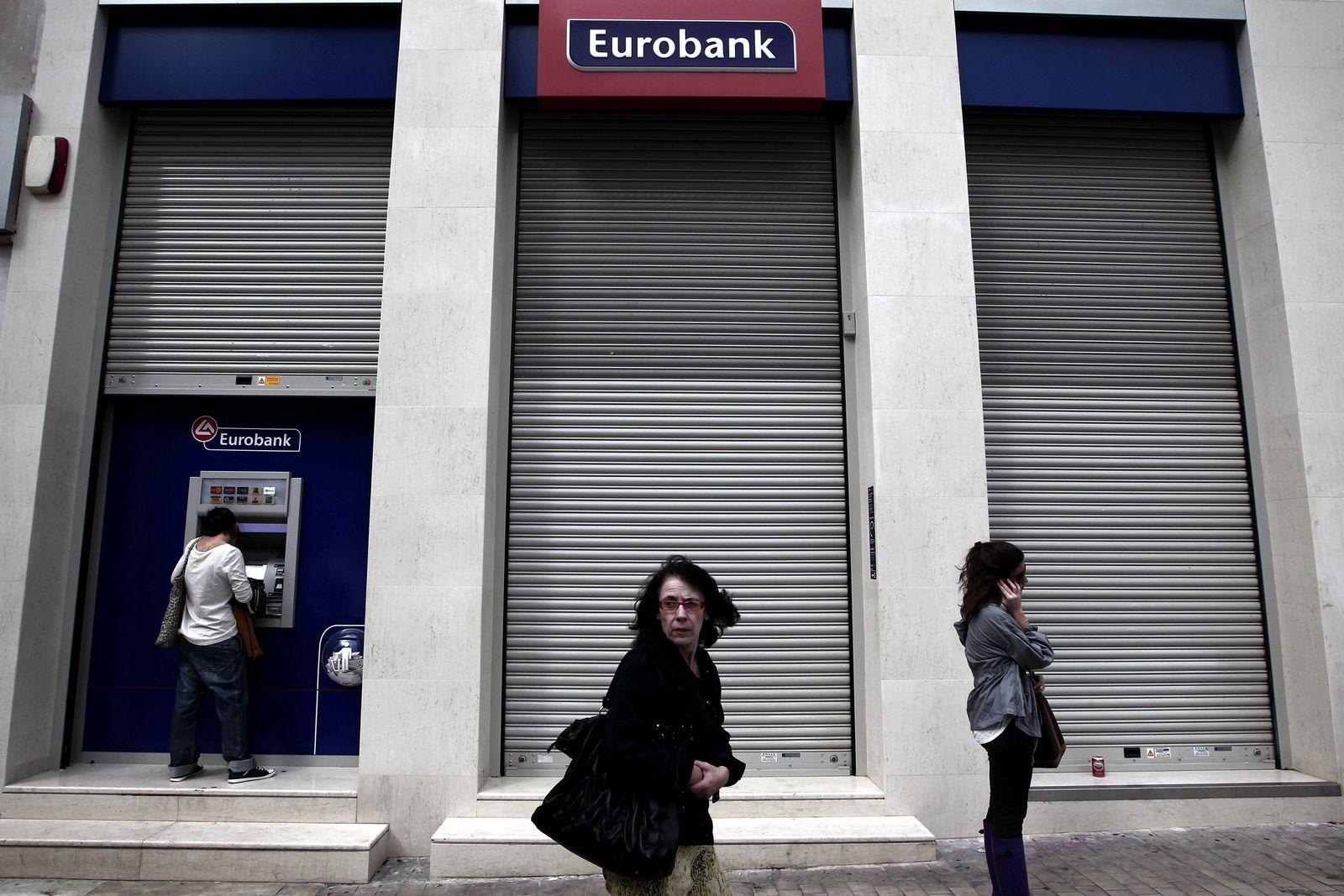 Griechenland / Eurobank / Stresstest
