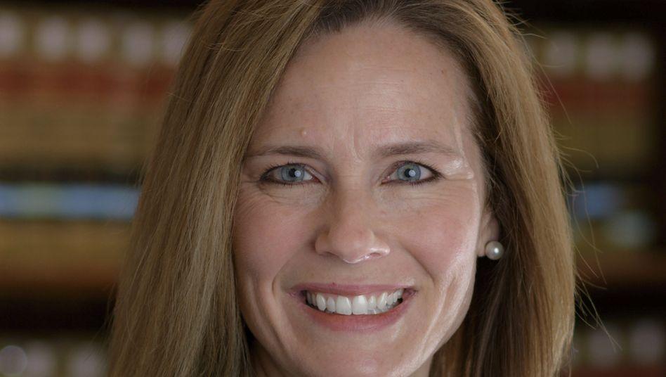 Amy Coney Barrett ist Bezirksrichterin in Chicago