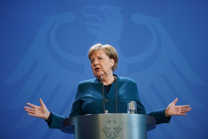 Dritter Coronavirus-Test ist negativ: Angela Merkel begab sich am 22. März in häusliche Quarantäne.