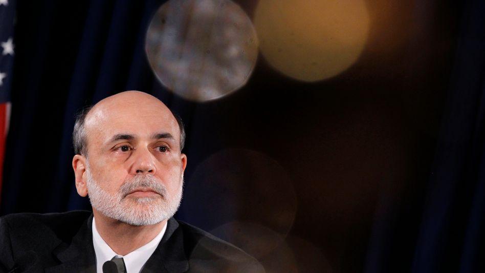 Fed-Chef Ben Bernanke macht die Schuldenkrise Sorgen, in Europa eingreifen will er aber nicht