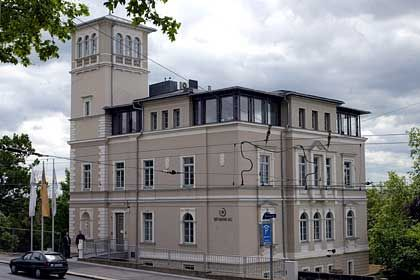 Kein Lebenszeichen mehr: BFI-Zentrale in Dresden