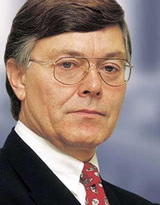 """Johannes Ringel: """"Das Geschäftsjahr 2003 muss die Grundlage bilden für eine Neuausrichtung der Bank"""""""
