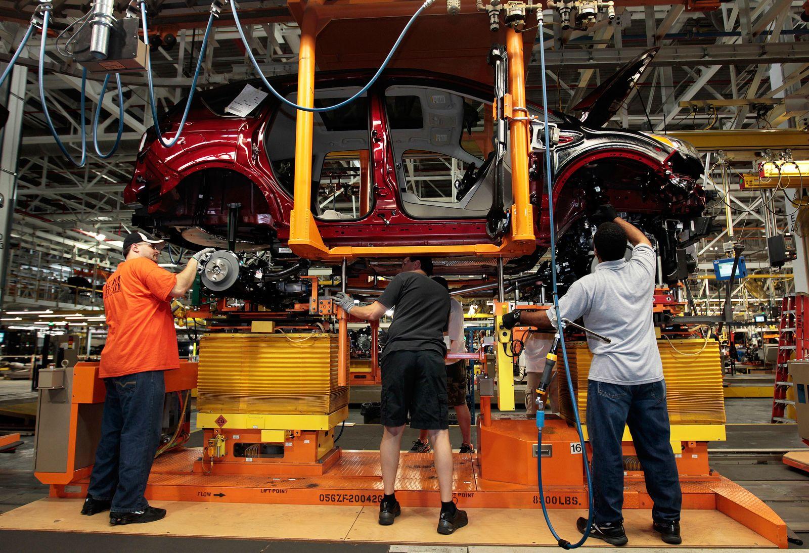 USA / Konjunktur / Auto-Produktion / Arbeitsmarkt / Arbeitslosigkeit