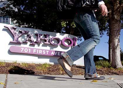 Mitarbeiter gehen, Gewinn kommt: Yahoo-Zentrale in Kalifornien