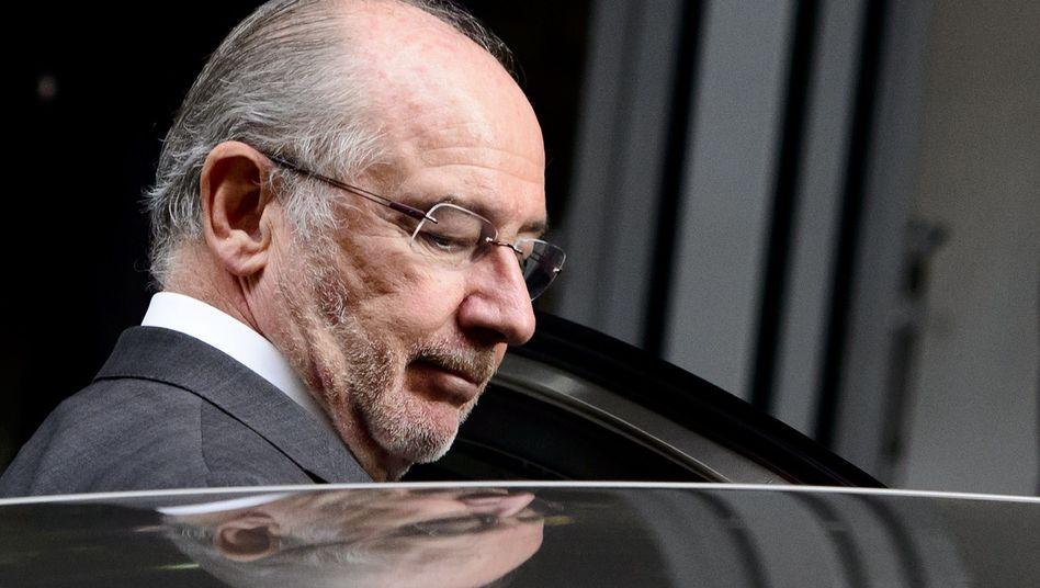 Stand zwischen 2010 und 2012 an der Spitze von Bankia: der ehemalige IWF-Chef Rodrigo Rato