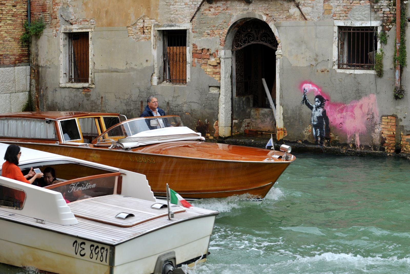 Banksy/ Venedig