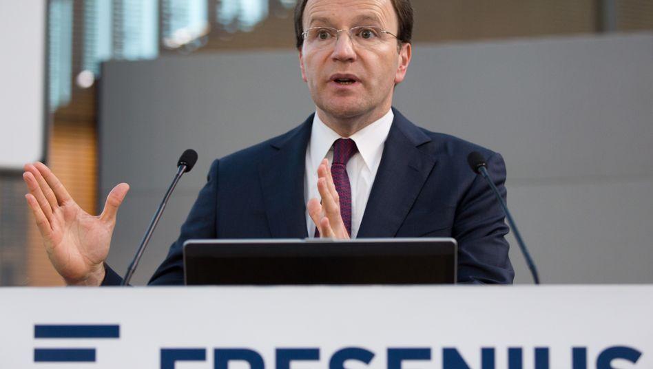 Derzeit noch Fresenius, bald Nestlé: Ulf Schneider.
