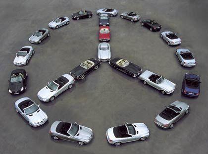 Familientreffen: Mercedes feiert sein erfolgreiches Nischenmodell