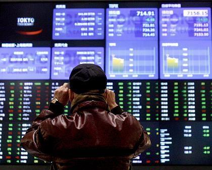 Klar im Plus: Die Börse in Tokio