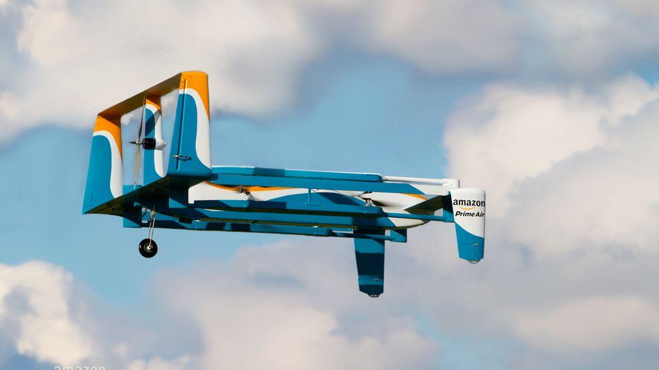 Amazon-Drohne: Kleines Flugzeug