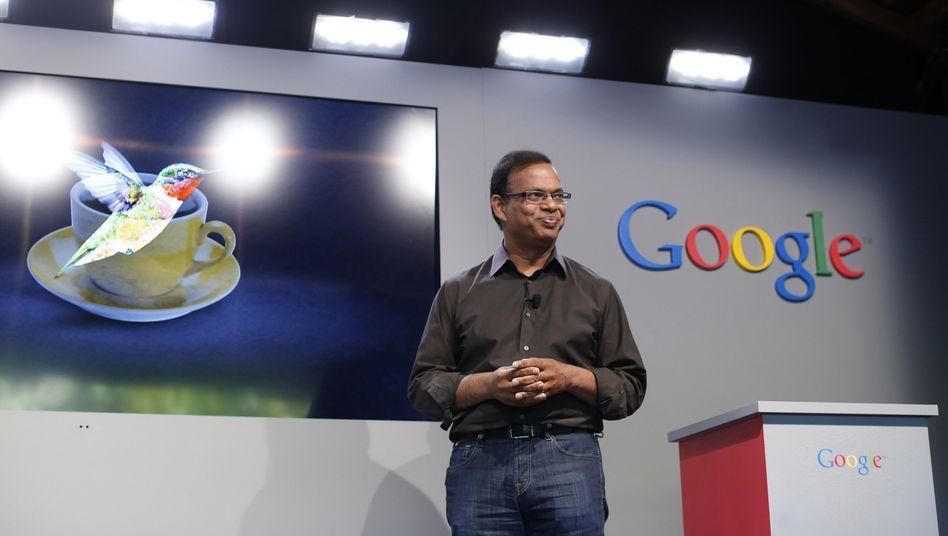 Top-Personlaie: Googles Suchmaschinen-Chef Amit Singhal, einer der einflussreichsten Manager des Internet-Konzern, zieht sich Ende Februar zurück.
