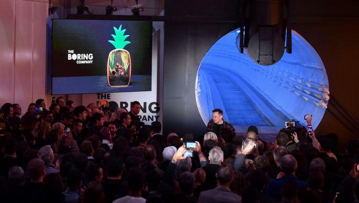Testtunnel für Hyperloop: Durch die Stadt rasen wie in einer Rohrpost