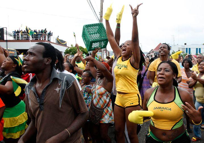 Jamaikaner unterstützen ihren Nationalhelden: Die Aktienkurse auf der Karibik-Insel stiegen 2015 beinahe so schnell wie Sprinter Usain Bolt die 100 Meter hinter sich bringt.