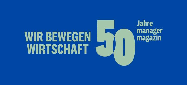 50 Jahre manager magazin: Zum Jubiläum dürfen Sie sich auf ein paar Specials freuen