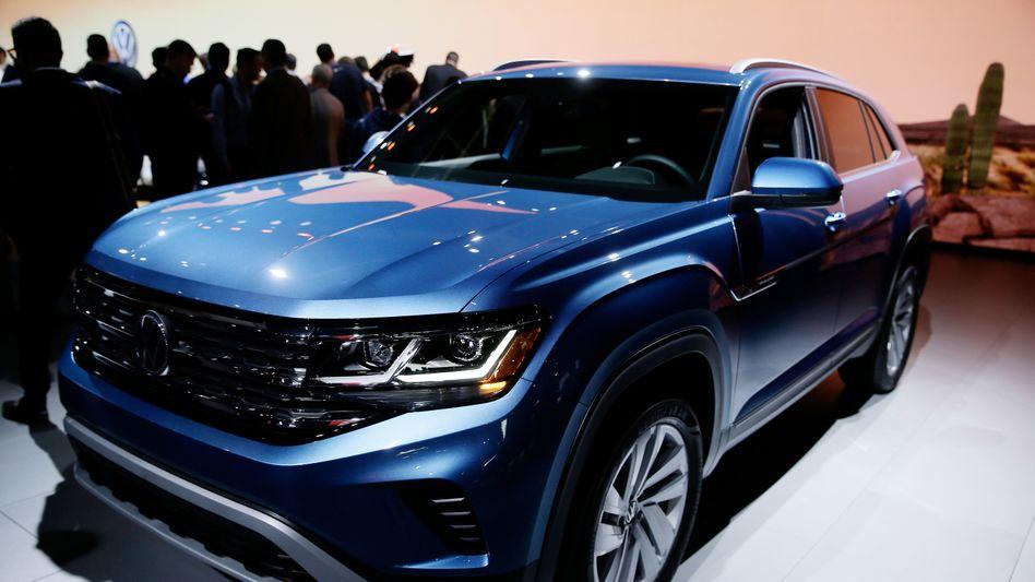 Schwergewicht: Vor allem SUV wie der VW Atlas treiben die Verkaufszahlen in Nordamerika