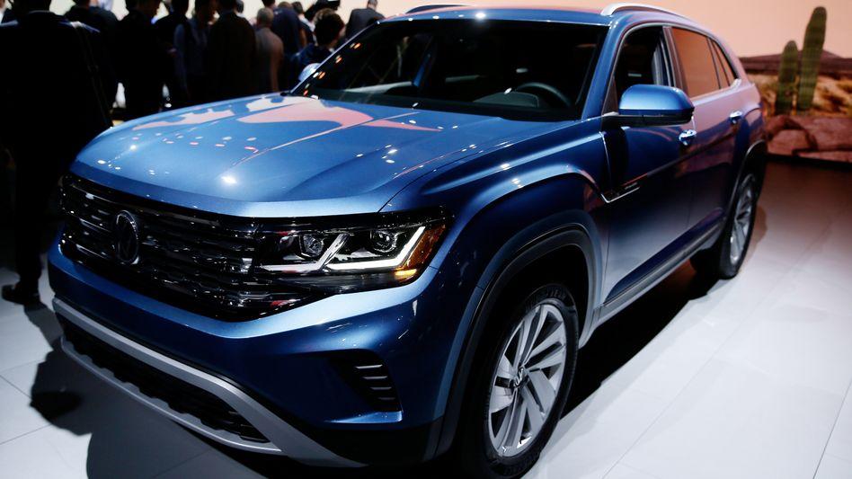 Verglichen mit dem restlichen Angebot läuft VWs Atlas in den USA gut