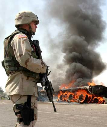 Terror-Angst: Täglich zünden Terroristen in Bagdad Bomben