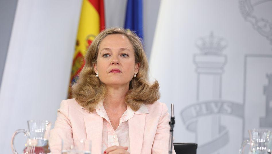 Spaniens Wirtschaftsministerin Nadia Calviño will Nachfolgerin von Eurogruppenchef Mario Centeno werden