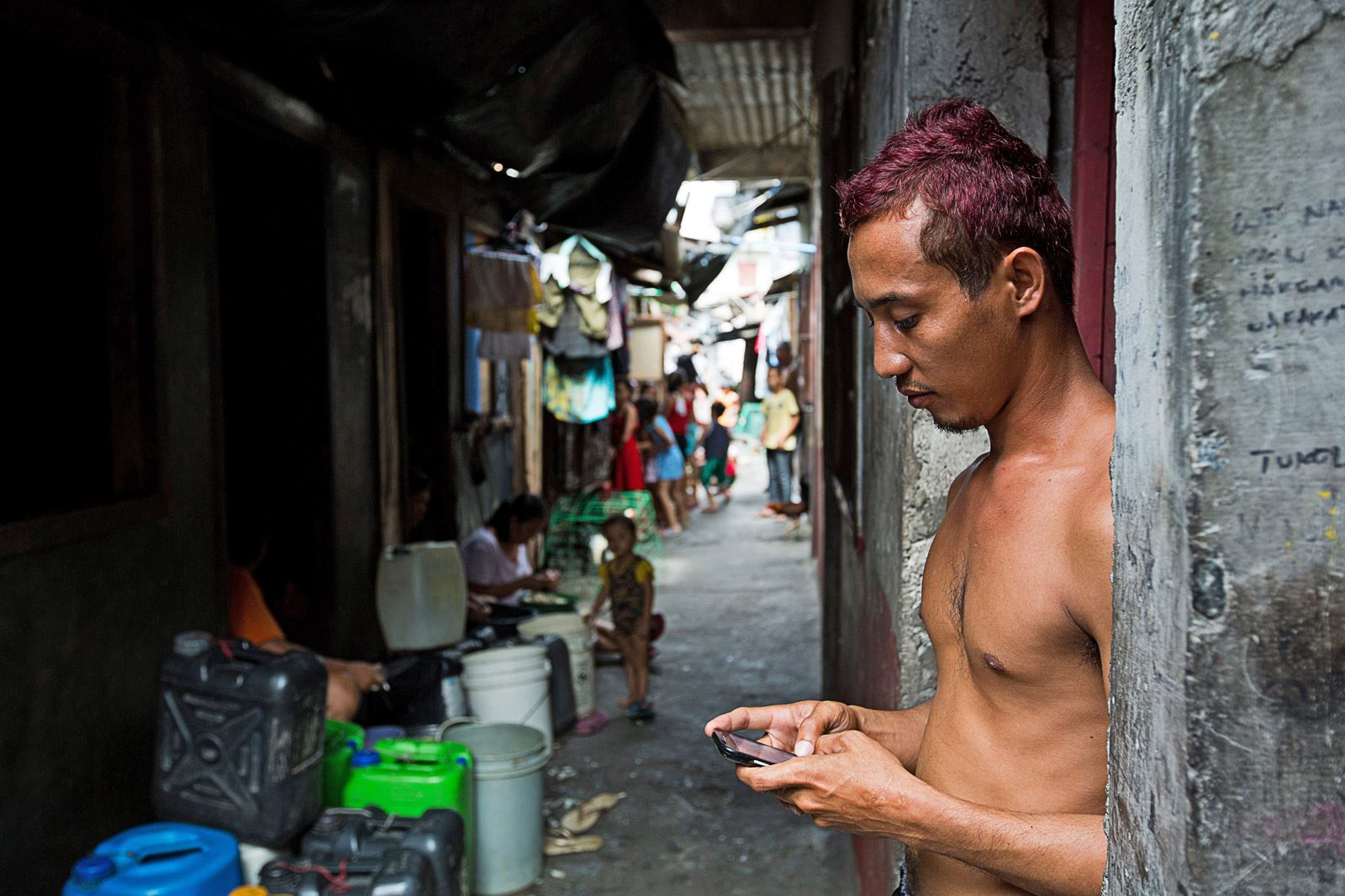 General Images Of The Tondo Slum As Philippine GDP Growth Expected To Accelerate In Second Half Of Fiscal Year