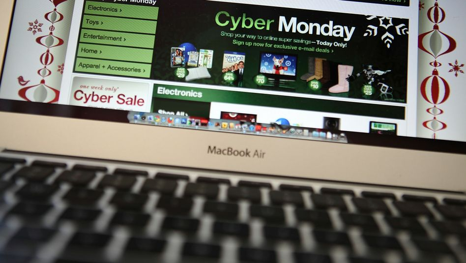 Cyber-Monday in USA: US-Bürger im Shopping-Wahn