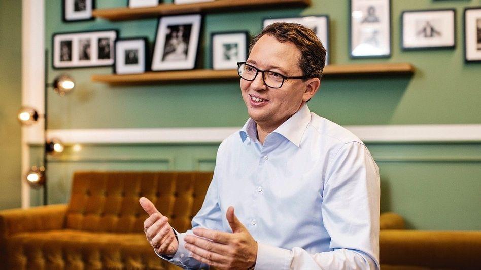 Zahlen im Blick: Rainer Beaujean, Chef von ProSiebenSat.1