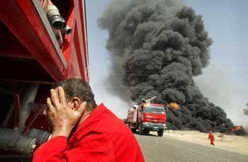 """Anschlag auf die irakische Ölindustrie: """"Verkettung unglücklicher Umstände"""""""