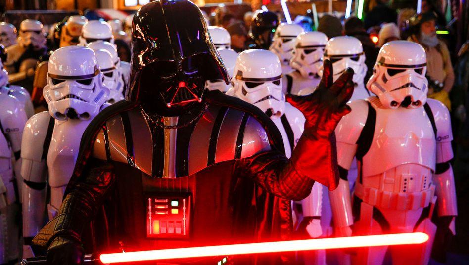 Fortsetzung fürs Streaming: Star-Wars-Fans bei der Premiere des jüngsten Films im Dezember 2019 in London