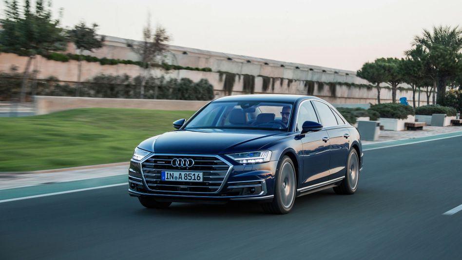 Audi A8: In Zukunft nur noch elektrisch?