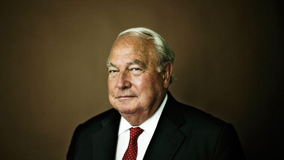 Vollblutunternehmer: Bremsen-Milliardär Heinz Hermann Thiele, fotografiert anlässlich des Interviews mit dem manager magazin im Jahr 2015.