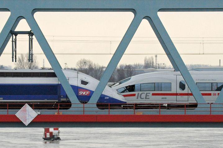 Hochgeschwindigkeitszüge von Alstom und Siemens