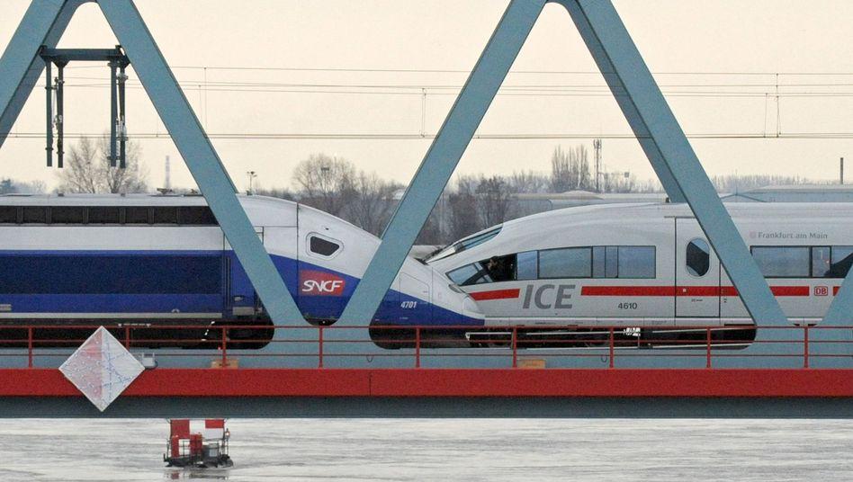 TGV von Alstom, ICE von Siemens: Der französische Alstom-Konzern prüft eine Fusion der Zugsparten mit Bombardier
