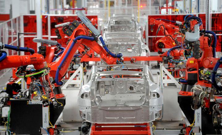 Tesla-Werk im kalifornischen Fremont: Im vergangenen Jahr gab es wohl einige Probleme in der Produktion